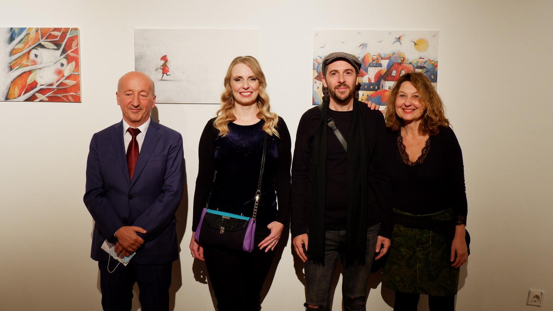 Otvorena izložba makedonskog ilustratora Vaneta Kosturanova u sklopu Festivala PAZI, KNJIGA!