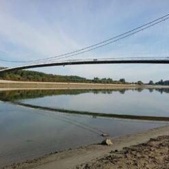 Viseći pješački most u Osijeku, nekada znan i po imenu Most mladosti, ide u drugu fazu radova