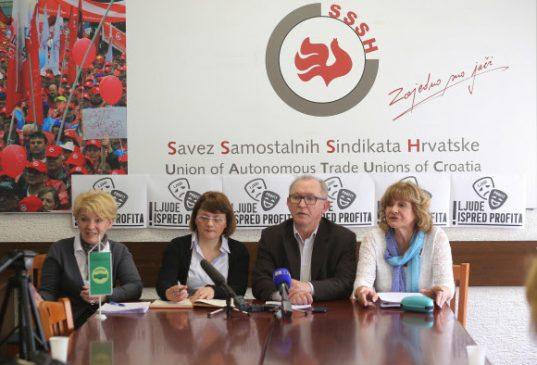 Samostalni sindikat zdravstva traži početak granskih kolektivnih pregovora