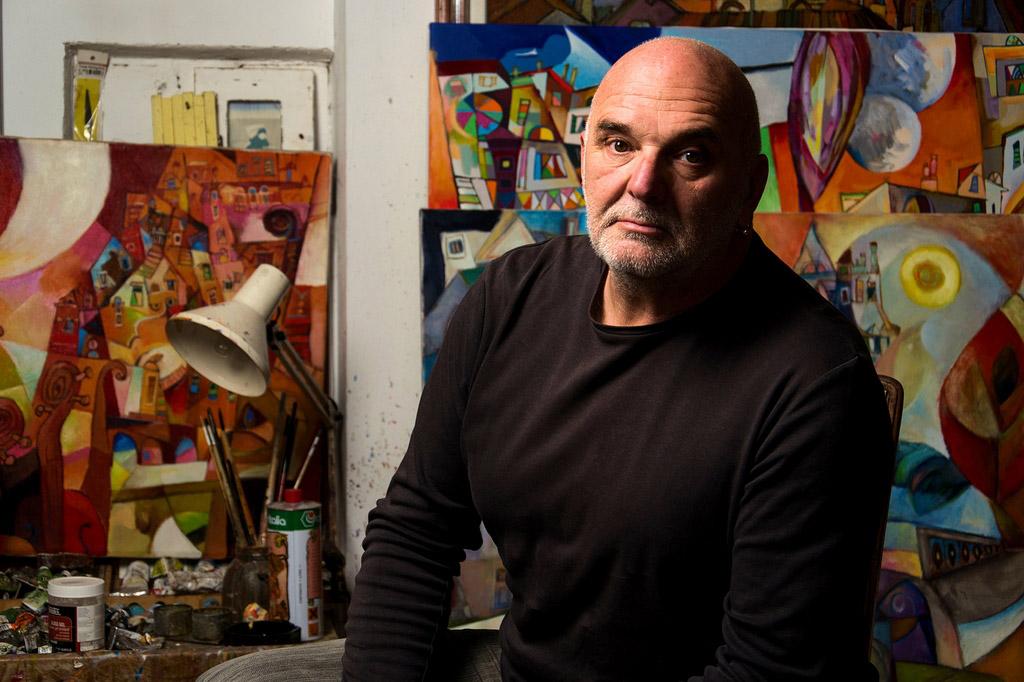Susret u atelijeru – Miljenko Bengez, slikar