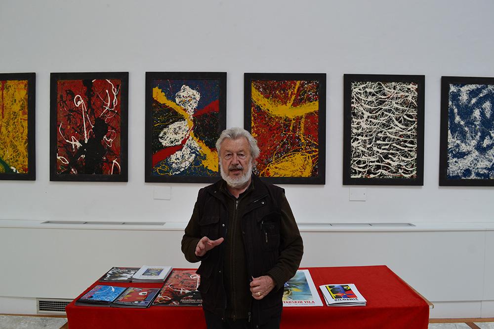 Retrospektiva slika Tomislava Marijana Bilosnića u Gradskoj loži Narodnog muzeja Zadar
