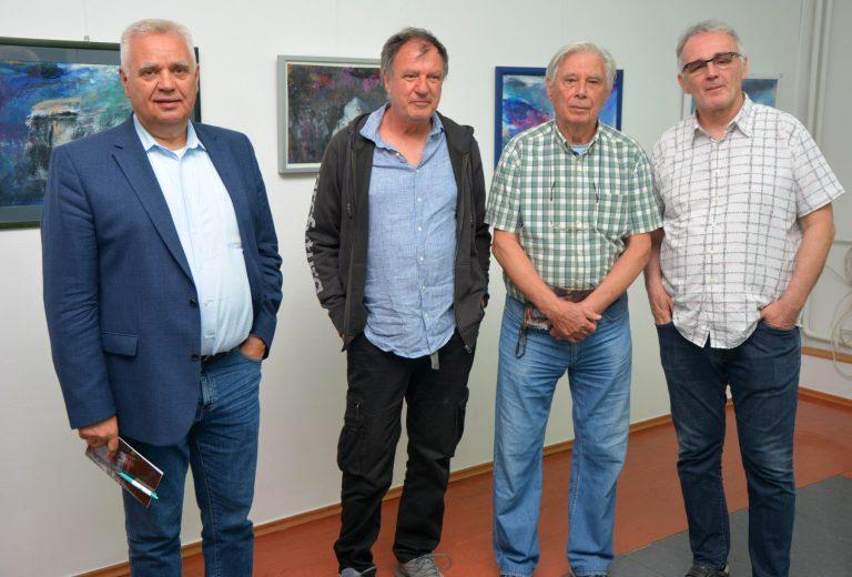Otvorena izložba Željka Bubala u zagrebačkoj galeriji SUNCE: Jadranska ritmizacija