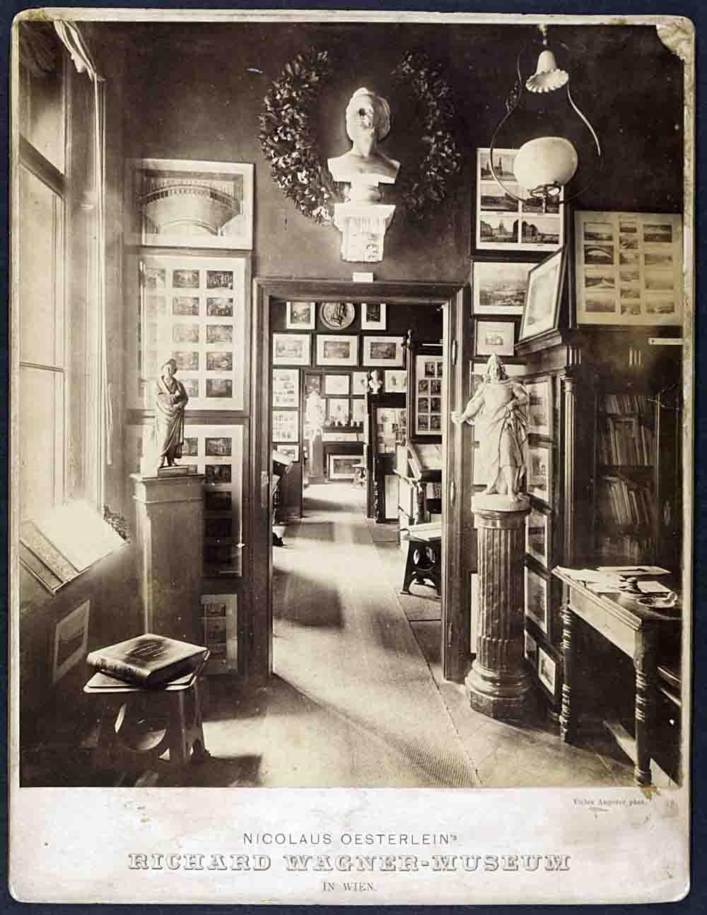 Bec ki Muzej Richarda Wagnera oko 1890 c O sterreichisches Theatermuseum Wien