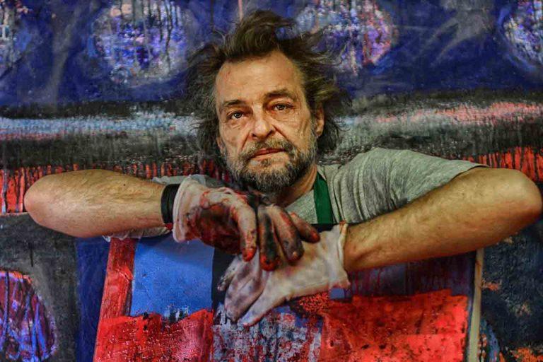 Slovenski umjetnik RAJKO ČUBER
