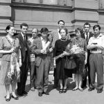 BlankaDuzanec s ucenicima1961