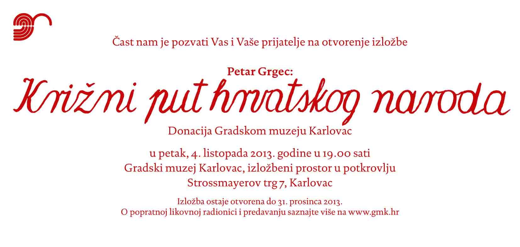 pozivnica grgec