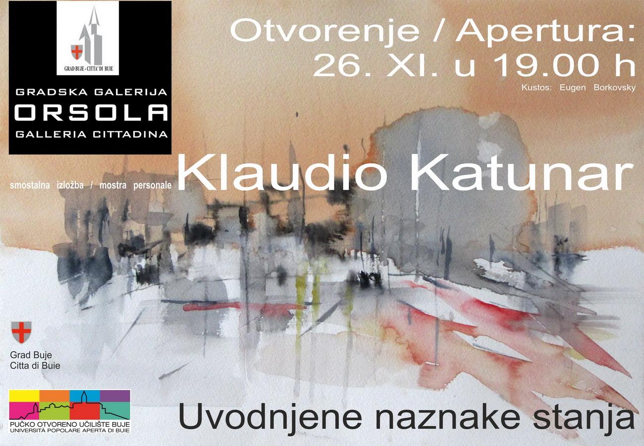 Klaudio Katunar: UVODNJENE NAZNAKE STANJA