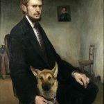 Autoportret sa psom 1910