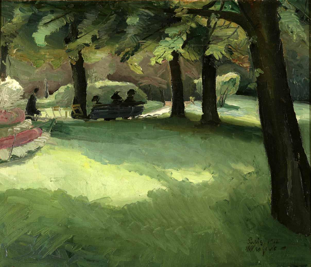 Parc du Luxembourg 1912