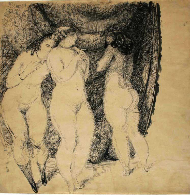 tri gracije 1912
