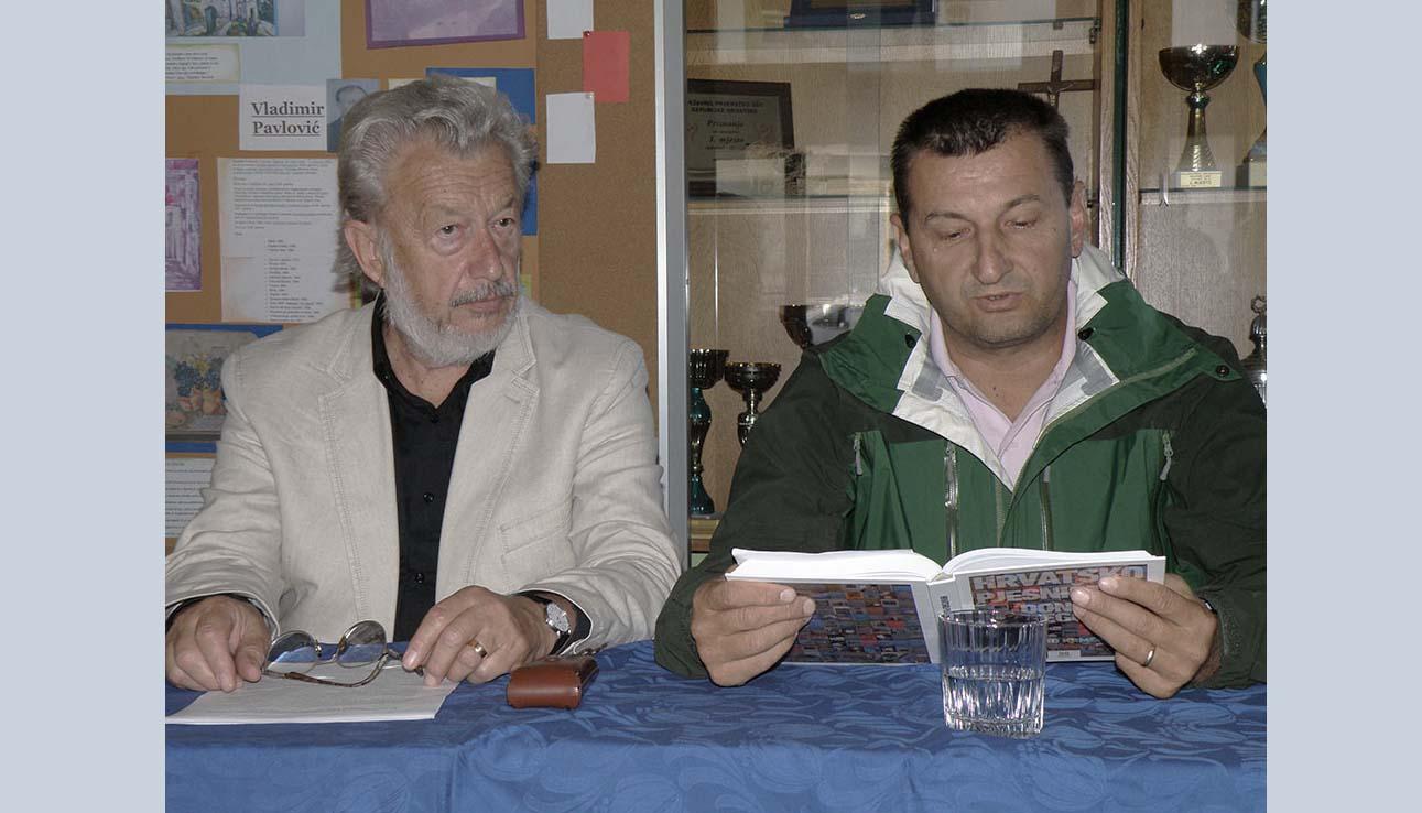 Tomislav Marijan Bilosnić i Ljubo Krmek