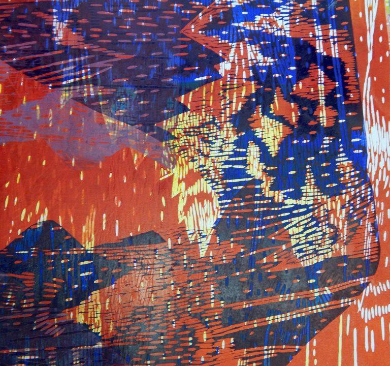 Izložba grafika Marije Lopac na zidovima Knjižnice Hrvatske akademije znanosti i umjetnosti