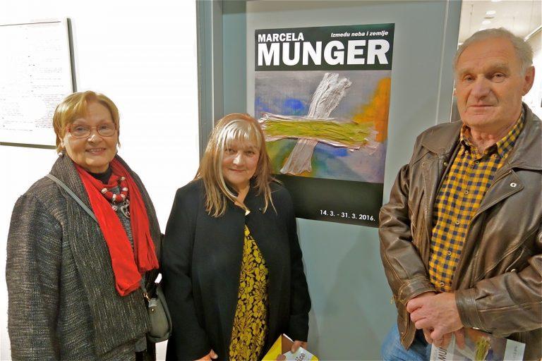 Marcela Munger: Između neba i zemlje / Foto