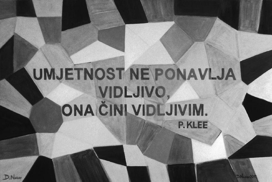 Skrivena poruka P. Klee 1