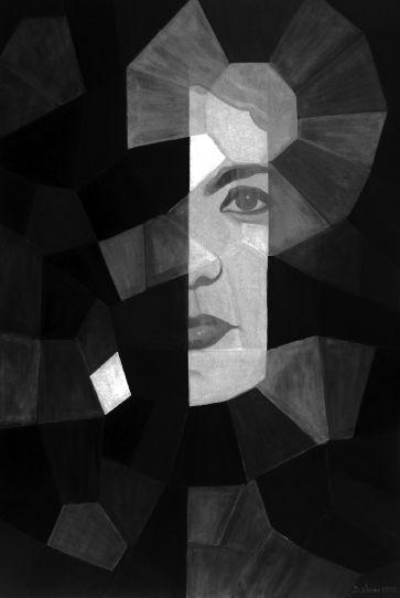 Skriveni autoportret u zrcalu 1