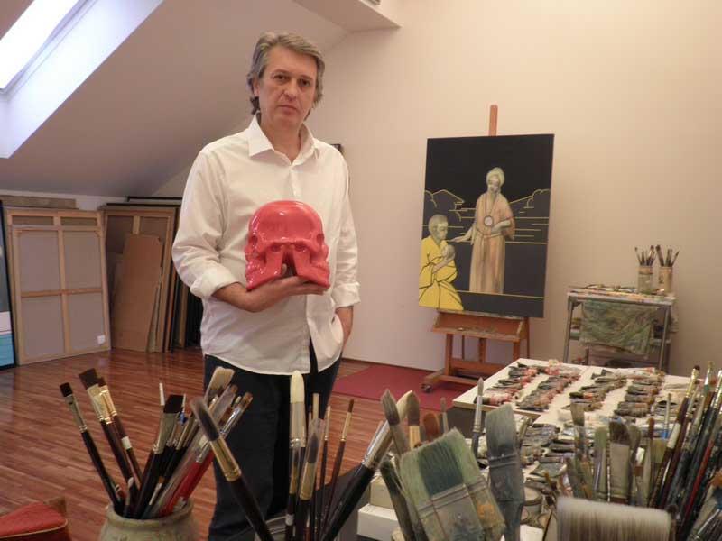 Izložba slika i skulptura Borisa Glumca Slavenskog