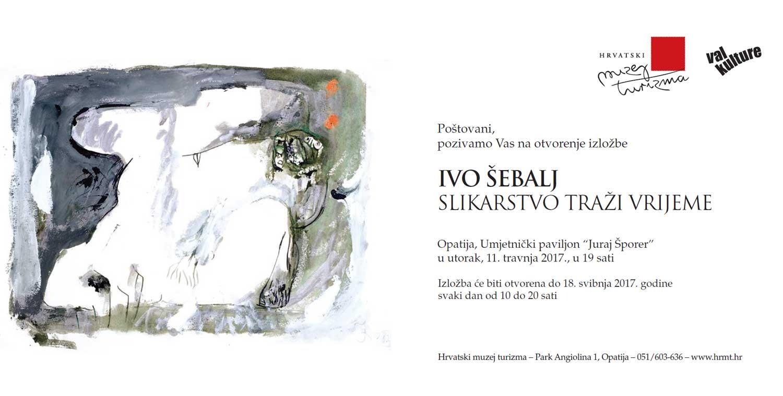 Ivo Šebalj pozivnica