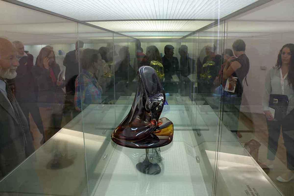 U muzeju antičkog stakla u Zadru otvorena izložba Mihaela Štebiha