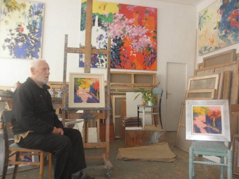 Razgovor u atelijeru – Josip Trostmann, akademski slikar