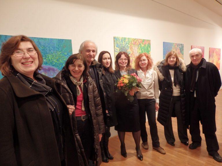 Otvorenje izložbe slika Mirjana Vajdić: Čari bara i močvara