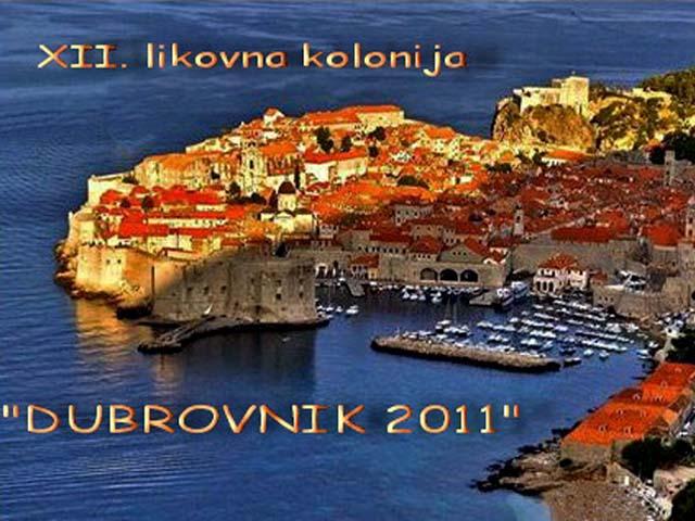 Likovna kolonija u Dubrovniku